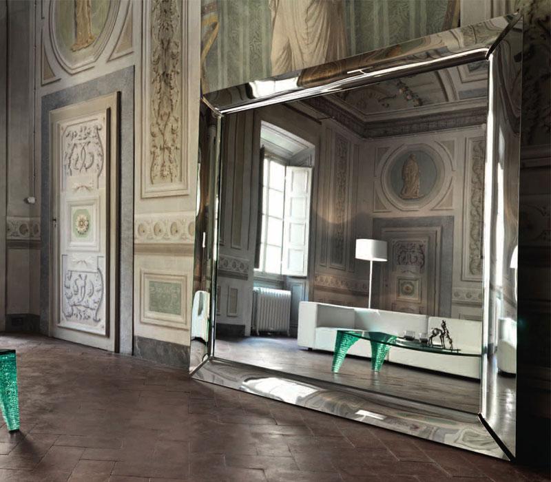 Furniture showroom image. Fiam Italia funiture collection in Toronto and Markham Ontario.