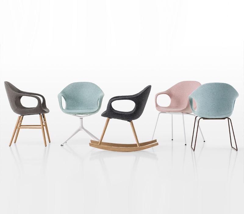 Furniture showroom image. Kristalia funiture collection in Toronto and Markham Ontario.