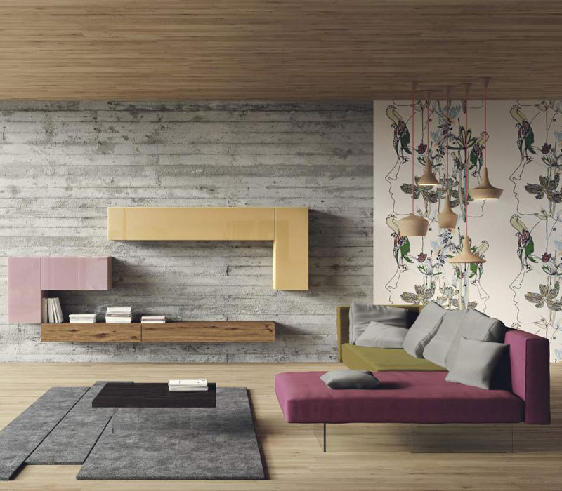 Furniture showroom image. Lago funiture collection in Toronto and Markham Ontario.