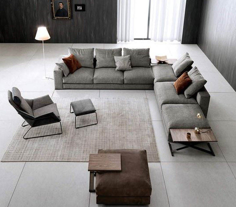 Furniture showroom image. Saba Italia funiture collection in Toronto and Markham Ontario.