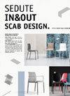Italian furniture catalogue: SCAB In & Out Poster