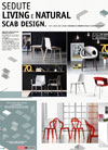 Italian furniture catalogue: SCAB Natural & Living Poster