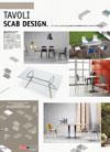Italian furniture catalogue: SCAB Tables Poster