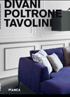 Italian furniture catalogue: Pianca Sofa/Lounge/Coffee