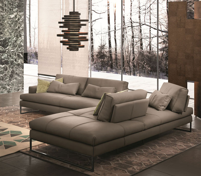 Furniture showroom image. Gamma funiture collection in Toronto and Markham Ontario.